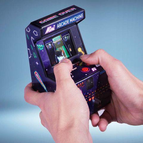 mini máquina de videojuegos