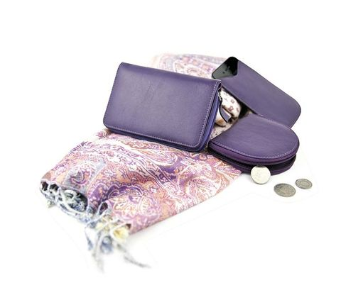 Product, Purple, Lavender, Musical instrument accessory, Violet, Natural material, Fashion design, Leather, Strap,