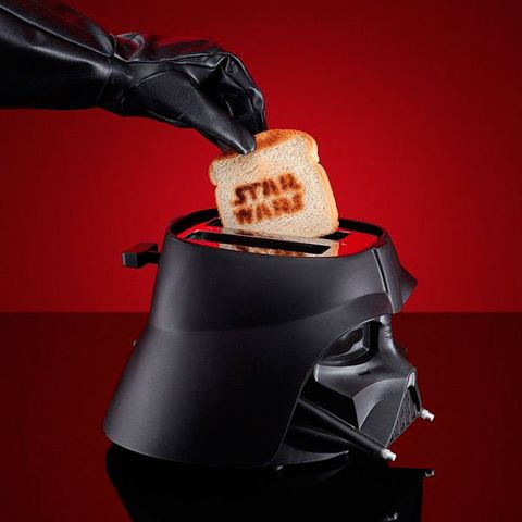 Toaster, Darth vader, Fictional character, Supervillain, Small appliance, Action figure,