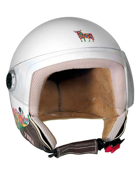 Brown, Personal protective equipment, Sports gear, Headgear, Logo, Helmet, Beige, Ski helmet, Material property, Machine,