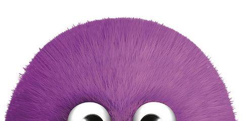 Violet, Purple, Magenta, Lavender, Circle, Costume accessory, Thread, Craft,
