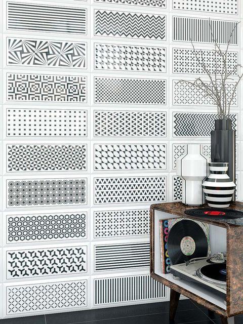 Pattern, Still life photography, Monochrome, Black-and-white, Monochrome photography, Wallpaper, End table, Still life,
