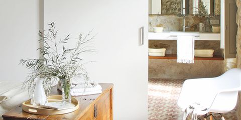 Room, Floor, Flooring, Interior design, Furniture, Drawer, Cabinetry, Interior design, Home, Sideboard,