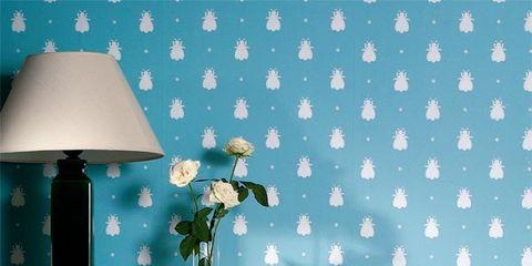 Blue, Green, Room, Wood, Serveware, Lampshade, Interior design, Furniture, Turquoise, Teal,