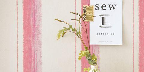 Pink, Magenta, Interior design, Lavender, Peach, Vase, Bag, Artifact, Serveware, Creative arts,