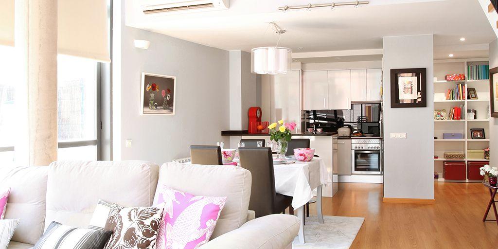 c mo separar ambientes en espacios di fanos. Black Bedroom Furniture Sets. Home Design Ideas