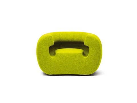 Green, Yellow, Furniture, Chair,