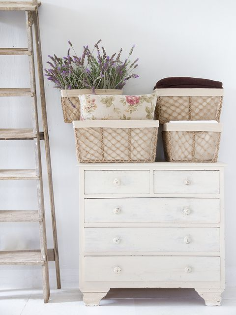 Wood, Drawer, Ladder, White, Chest of drawers, Dresser, Cabinetry, Sideboard, Beige, Wicker,