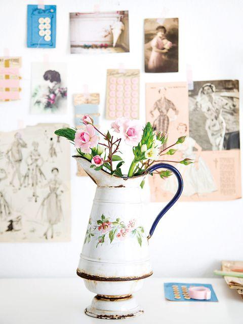 Pink, Room, Vase, Still life photography, Flowerpot, Flower, Plant, Ceramic, Interior design, Tableware,