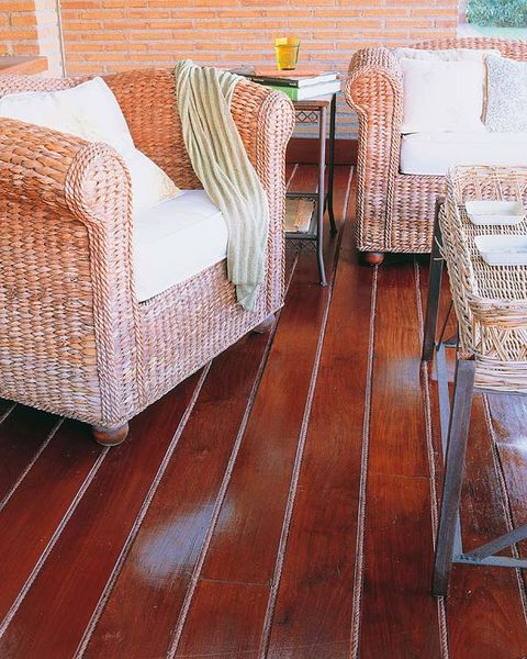 Floor, Wood, Flooring, Textile, Hardwood, Furniture, Wood flooring, Linens, Tablecloth, Orange,