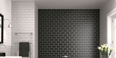 Plumbing fixture, Architecture, Room, Tile, Floor, Interior design, Property, Wall, Flooring, White,