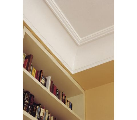 Property, Shelf, Room, Shelving, Wall, Molding, Tan, Beige, Bookcase, Material property,