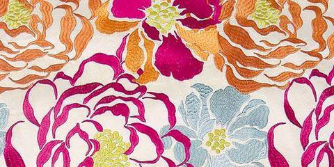 Yellow, Pattern, Orange, Pink, Petal, Art, Purple, Colorfulness, Magenta, Peach,