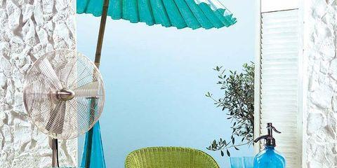 Blue, Furniture, Table, Teal, Turquoise, Aqua, Chair, Azure, Outdoor furniture, Umbrella,