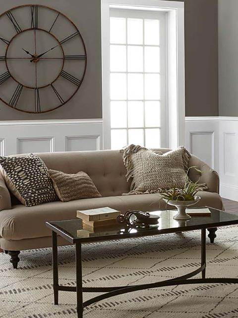 Furniture, Living room, Couch, Room, Interior design, Coffee table, Sofa bed, Table, Wall, studio couch,