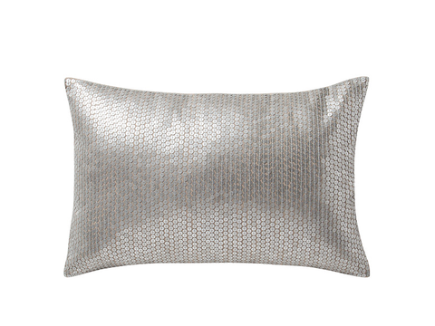 Product, Textile, Pillow, Cushion, Throw pillow, Black, Home accessories, Grey, Linens, Silver,