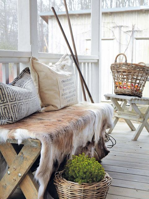 Wood, Interior design, Wicker, Outdoor furniture, Home accessories, Twig, Basket, Fur, Home, Fawn,
