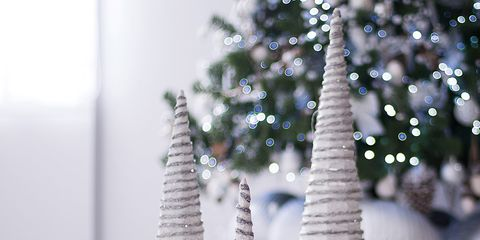 White, Christmas tree, Tree, Christmas decoration, Woody plant, Branch, Wood, Architecture, Plant, Christmas,