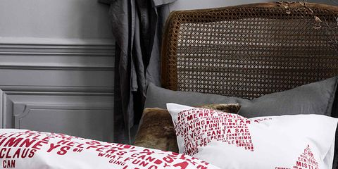 Room, Textile, Linens, Bedding, Interior design, Cushion, Bed sheet, Pillow, Home accessories, Bedroom,