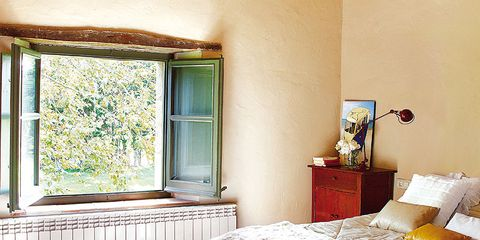 Room, Interior design, Bed, Property, Bedding, Textile, Bedroom, Bed sheet, Wall, Linens,