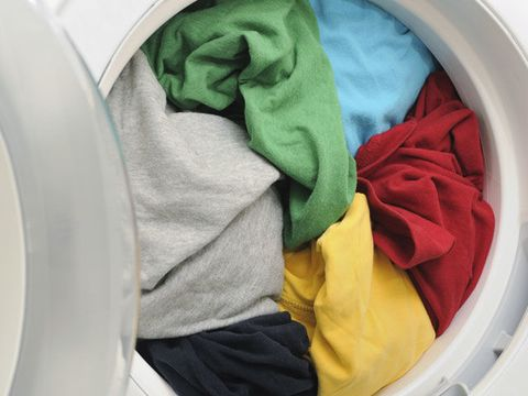 Washing machine, Laundry, Green, Clothes dryer, Yellow, Washing, Major appliance, Circle,