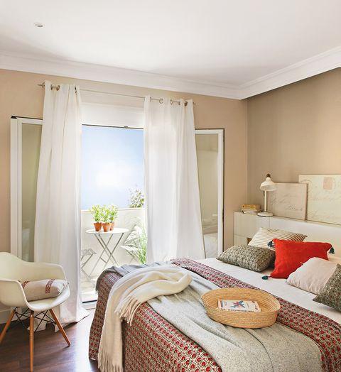 Limpieza de primavera dormitorio