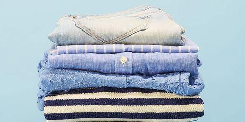 Blue, Clothing, Jeans, Denim, Textile, Linens, Pattern, Trousers, Towel, Wool,