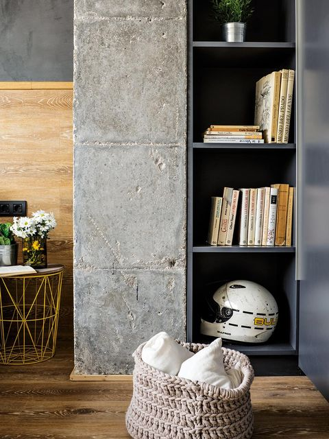 Shelf, Shelving, Furniture, Room, Wall, Interior design, Table, Floor, Bookcase, Wood,