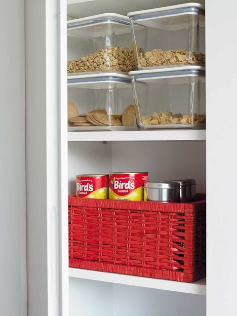 Shelf, Shelving, Pantry, Furniture, Food storage containers, Food storage, Spice rack, Room, Home accessories, Cupboard,