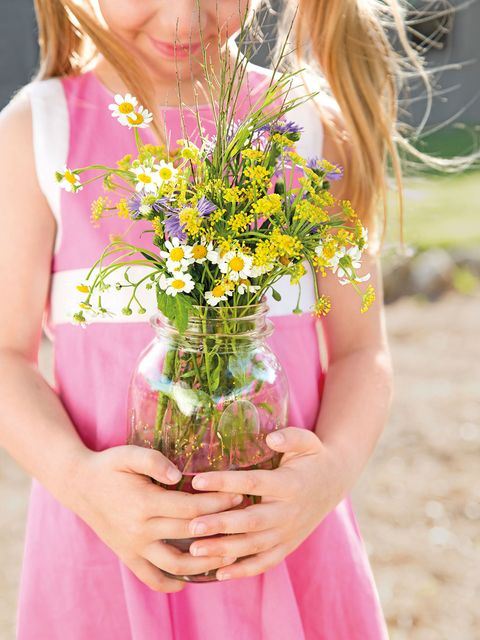 Bouquet, Pink, Flower, Flower Arranging, Yellow, Floral design, Beauty, Cut flowers, Blond, Wildflower,