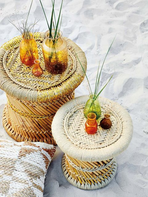 Flowerpot, Wicker, Plant, Table, Flower, Houseplant,