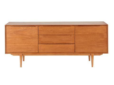 Sideboard, Furniture, Chest of drawers, Drawer, Dresser, Table, Rectangle, Nightstand, Desk, Material property,