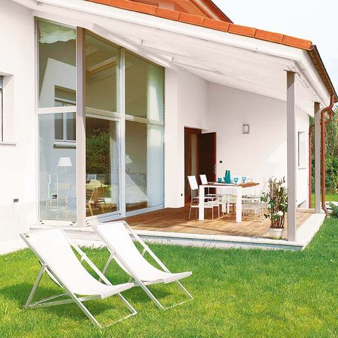 Property, Real estate, House, Furniture, Home, Building, Chair, Outdoor furniture, Fixture, Door,