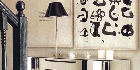 Room, Stuffed toy, Toy, Door, Lampshade, Teddy bear, Light fixture, Handwriting, Plush, Lighting accessory,
