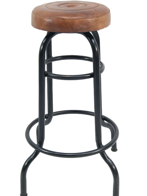 Brown, Bar stool, Tan, Stool, Iron, Wood stain, Metal, Material property, Outdoor furniture, End table,