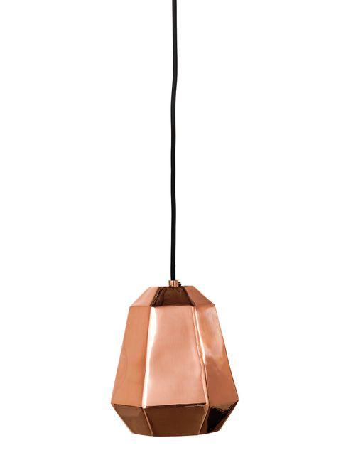 Ceiling, Orange, Lighting, Lamp, Light fixture, Brown, Ceiling fixture, Copper, Metal, Pendant,