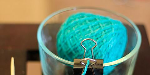 Blue, Teal, Turquoise, Aqua, Azure, Electric blue, Craft, Knot, Thread, Fiber,
