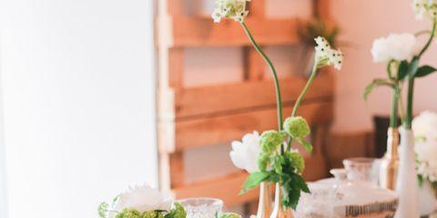Bouquet, Table, Furniture, Petal, Flower, Dishware, Serveware, Centrepiece, Interior design, Cut flowers,