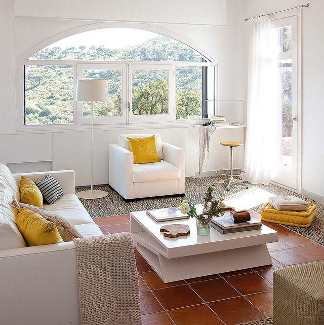ventanas en el salón