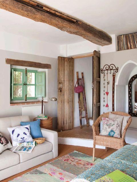 Claves Para Decorar Casas De Campo - Interiores-de-casas-de-campo