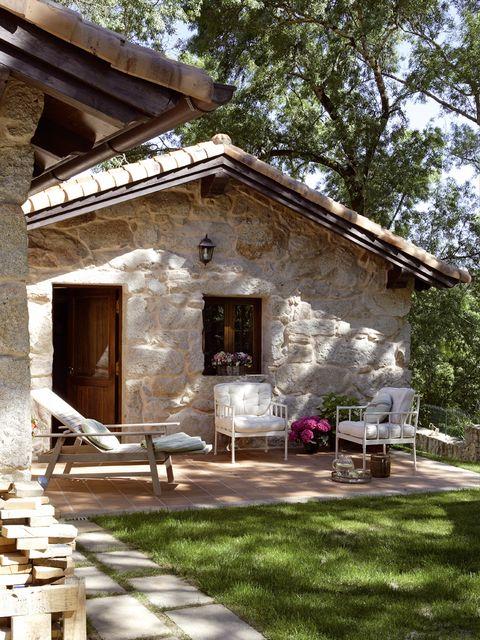 House, Door, Real estate, Home, Rural area, Garden, Porch, Shade, Cottage, Yard,