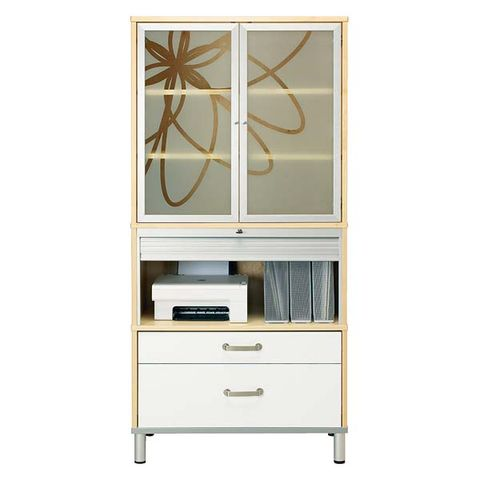 Drawer, Chest of drawers, Cabinetry, Furniture, Grey, Beige, Metal, Rectangle, Dresser, Material property,