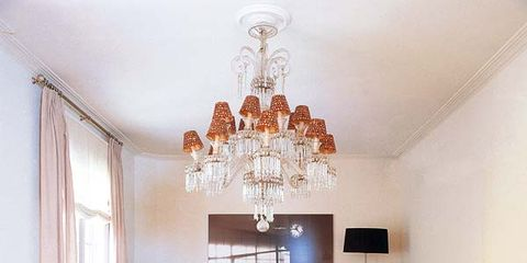 Tablecloth, Room, Interior design, Furniture, Textile, Table, White, Ceiling, Dining room, Ceiling fixture,