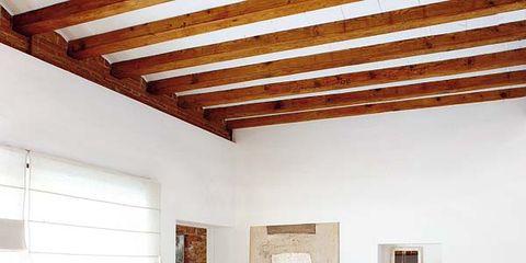 Wood, Room, Interior design, Floor, Flooring, Wall, Ceiling, Living room, Home, Interior design,
