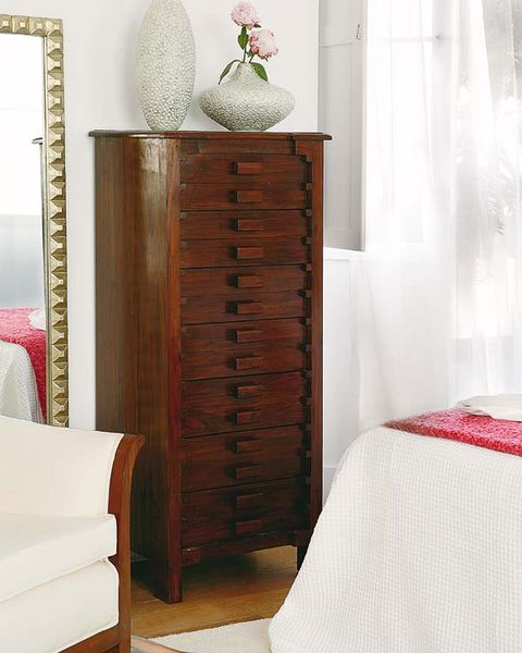 Wood, Room, Textile, Furniture, Interior design, Hardwood, Wall, Linens, Chest of drawers, Cabinetry,