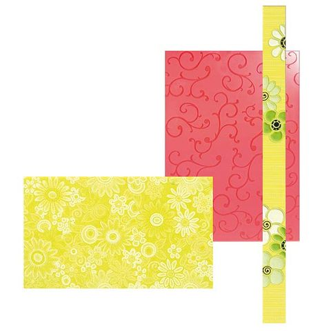 Yellow, Green, Pattern, Colorfulness, Rectangle, Paper product, Stationery, Peach, Paper, Square,
