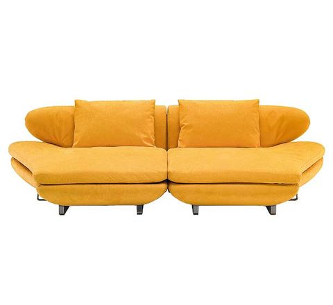 Brown, Yellow, Couch, Furniture, Amber, Orange, Comfort, Tan, Beige, studio couch,