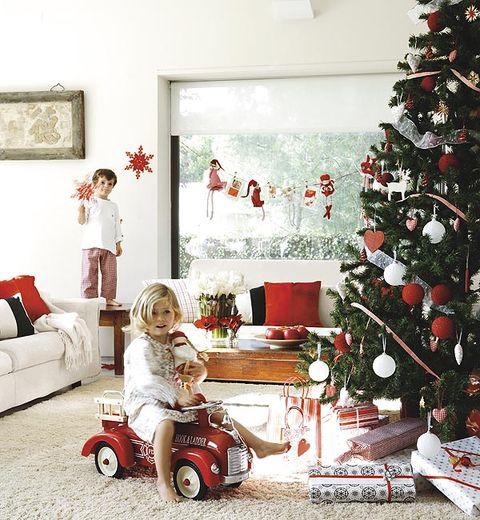 82cfd5508cf Ocho ideas para decorar tu casa en Navidad