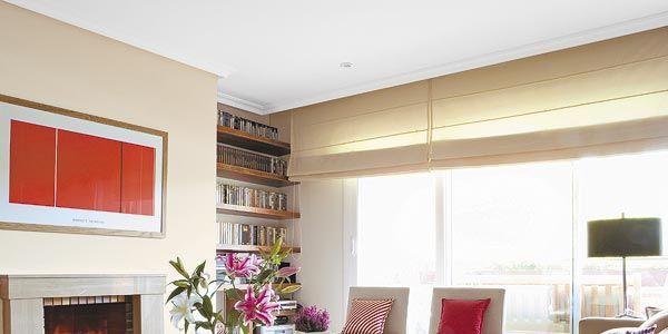 Cortinas y estores para cada tipo de ventana for Stores y cortinas