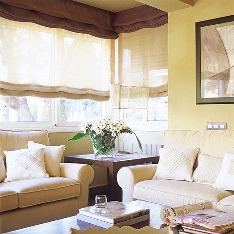 Cortinas y estores para cada tipo de ventana - Estores para salones ...